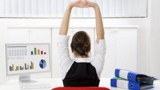 Esercizi di ginnastica da fare in ufficio
