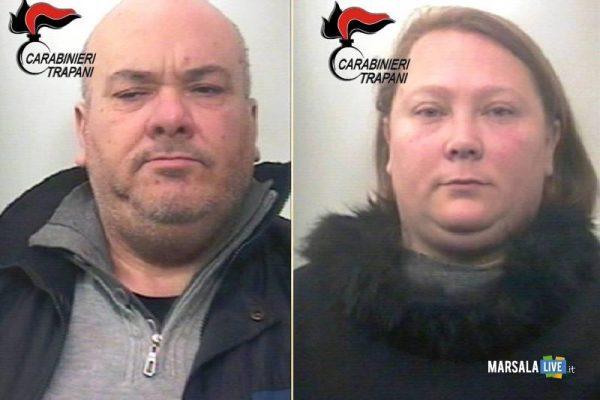 Marsala, arrestati marito e moglie