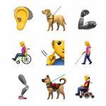 Apple propone nuove emoji per persone disabili