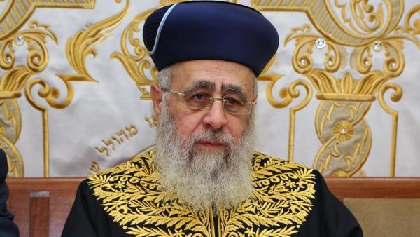 """Polemiche contro le frasi del rabbino Yitzhak Yosef, """"i neri sono scimmie"""""""