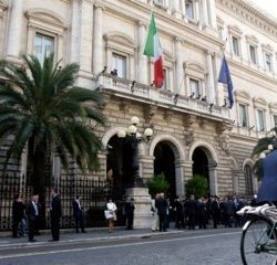 Banca d'Italia di Via Nazionale in Roma