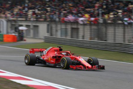 F1 GP Cina: Ferrari in pole position con Vettel e Raikkonen