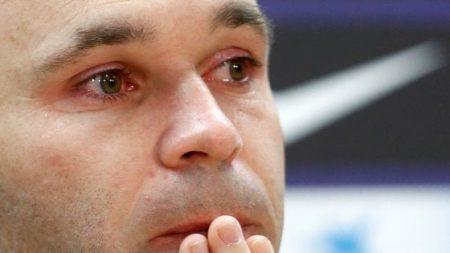 Andres Iniesta lascia il Barcellona dopo 22 anni