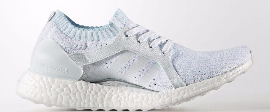 Scarpe Adidas realizzate con la plastica riciclata degli oceani