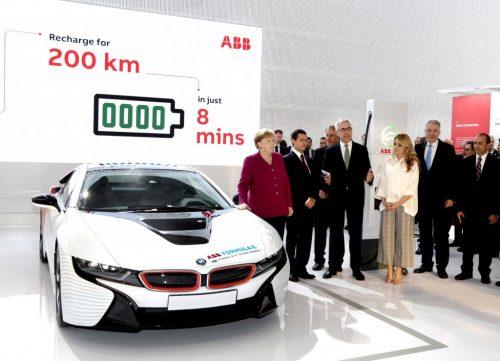 Auto elettriche: il nuovo Terra HP ricarica in soli 8 minuti