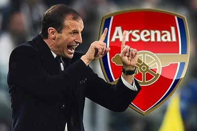 Nuovo allenatore Arsenal: Allegri al posto di Wenger