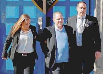 Weinstein rilasciato su cauzione di 1 milione di dollari