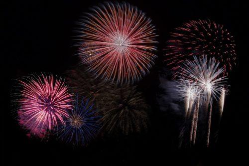 Liguria: i veri protagonisti sono i fuochi d'artificio