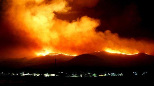 Belluno: salvati i due escursionisti inghiottiti dall'incendio